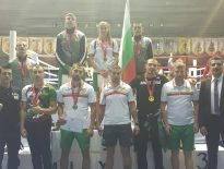 4 златни, 2 сребърни и 1 бронзов медал